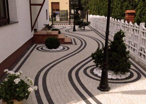 Польская тротуарная плитка. Изделия из бетона