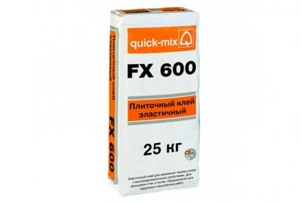 Клей для природного камня FX 600 Quick mix