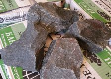 Камень для бань и саун Габбро-диабаз
