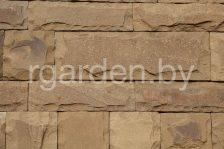 Плитка из песчаника Серо-зеленый со сколом
