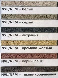 Универсальный цветной раствор для природного камня NVL 300 Quick mix