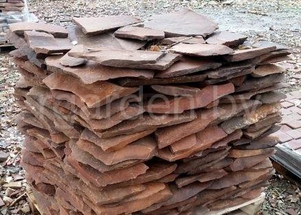 Песчаник Фонтанка красная