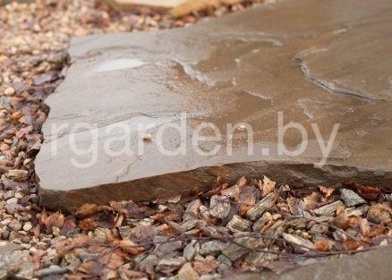 Песчаник Серо-зеленый ЭЛИТ для мощения