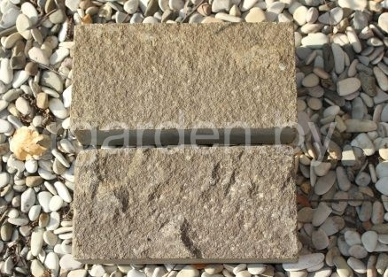 Брусчатка из песчаника Серо-зеленый для мощения