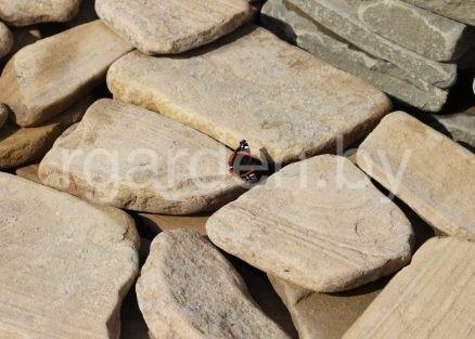 Песчаник Карпаты галтованный для мощения