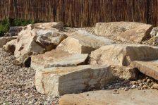 Бутовый камень Радужный
