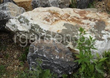 Бутовый камень Белый кристалл