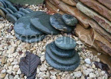 Каменная крошка Бежевая