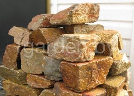 Кладочный камень Блочок Радужный