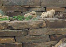 Кладочный камень Блочок Серо-зеленый