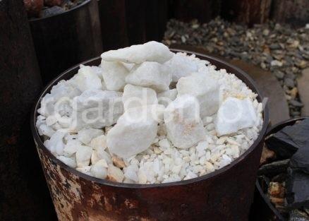 Мраморная крошка Белая