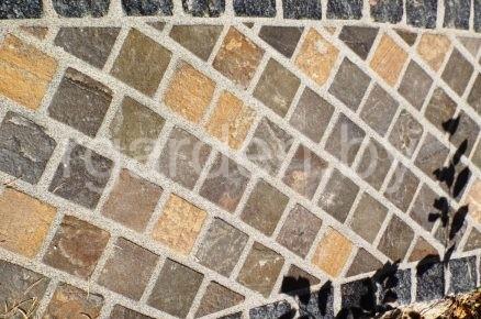 Раствор для заполнения швов брусчатки и камня на основе эпоксидных смол PFL QUICK-MIX Каменно-серый
