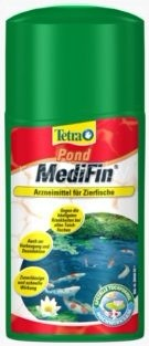 Tetra Pond MediFin для борьбы с инфекциями прудовых рыб