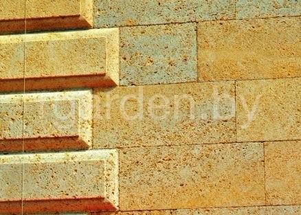 Плитка из ракушечника Дагестанский желтый