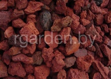 Крошка вулканическая Red Lava