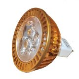 Лампа LED ABR MR16-3LED-12V-3W- WW GOLD