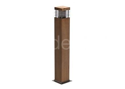 Светильник для дорожек из дерева TSS-8