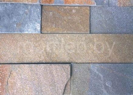 Плитка из кварцитопесчаника Графитовый