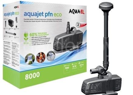 Насос для фильтра, ручьев и водопадов AQUAJET PFN 8000 ECO