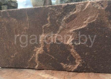 Плитка из песчаника Терракотово-красный