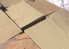 Плитка из песчаника Серо-зеленый