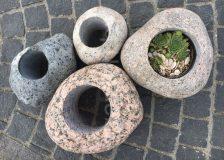 Кашпо из камня