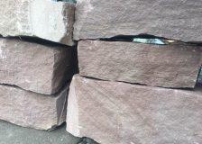 Кладочный камень известняк розовый
