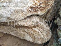 Бутовый камень Тигровый галтованный