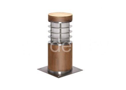Светильник для дорожек из дерева TSS-8R-SHORT