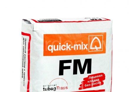 Затирка для швов искусственного камня/клинкера FM quick-mix