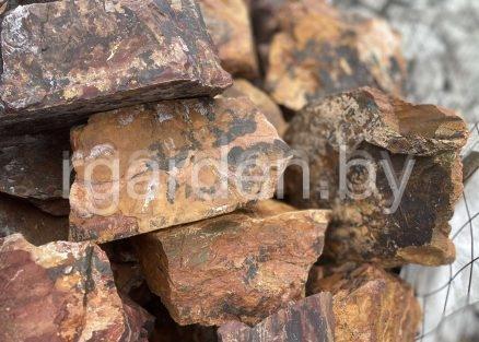 Бутовый камень Яшма пейзажная